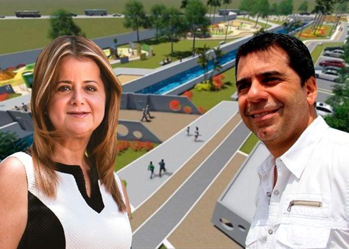 El Parque Bicentenario y la promesa incumplida de Elsa Noguera y Alex Char