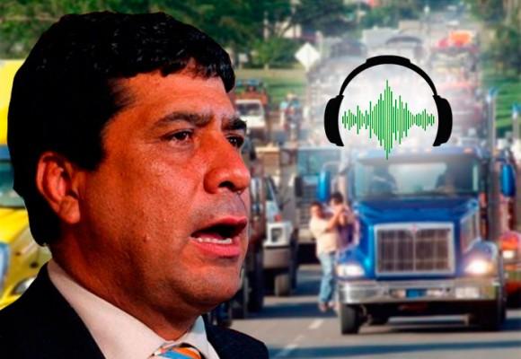 AUDIOS: Ira entre los camioneros por la detención de Pedro Aguilar