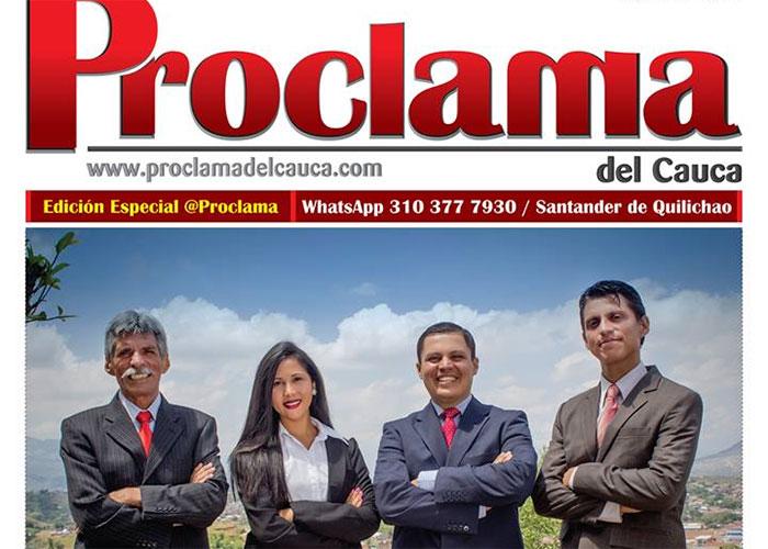 Proclama del Cauca celebra su crecimiento en Internet