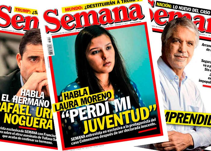 Revista semana y la crisis de credibilidad las2orillas for Revistas de espectaculos de esta semana