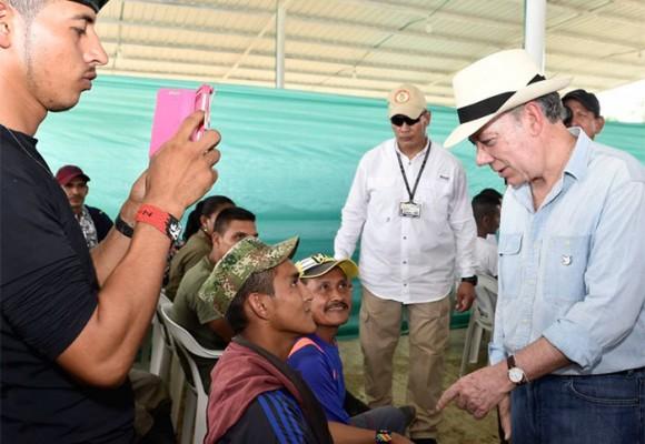 El pulso que le ganó Iván Márquez al Presidente en el Putumayo
