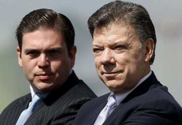 El guiño del presidente Santos a Pinzón
