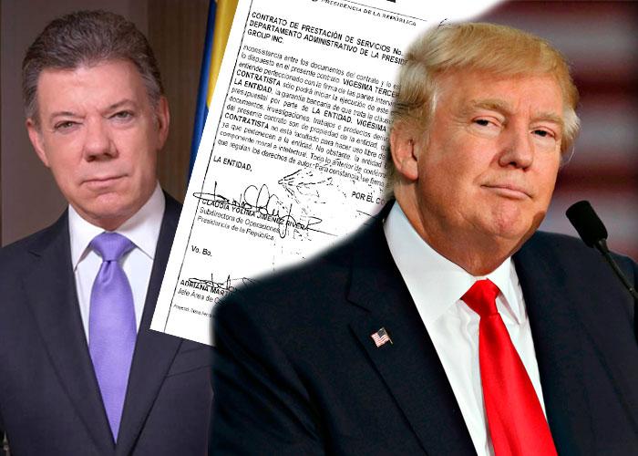Santos perdió a su lobista con la Casa Blanca
