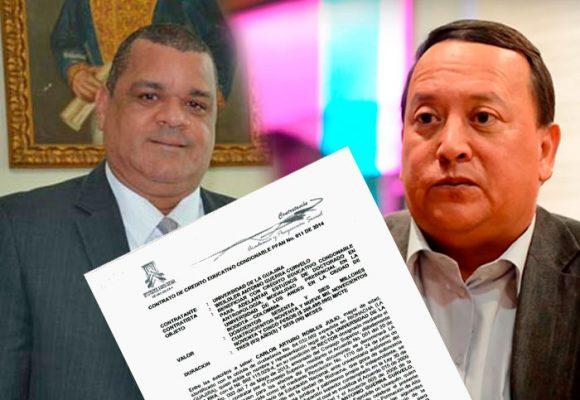 El empujón que le dio el rector de la U. de La Guajira al gobernador para que fuera Doctor