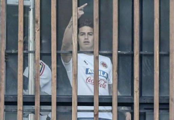 James: Cobarde con los periodistas españoles, muy machito con los colombianos