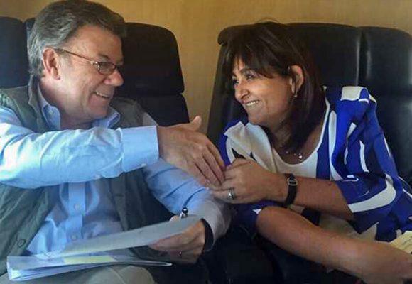 María Lorena Gutiérrez a la cabeza junto a Santos del revolcón del alto gobierno