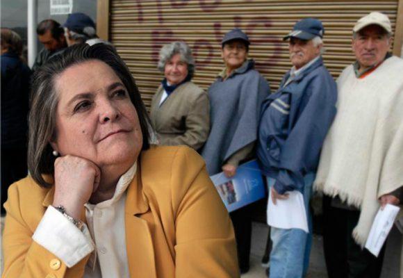 El sistema pensional está en el aire… ¡Y Clara Lopéz no se mueve!