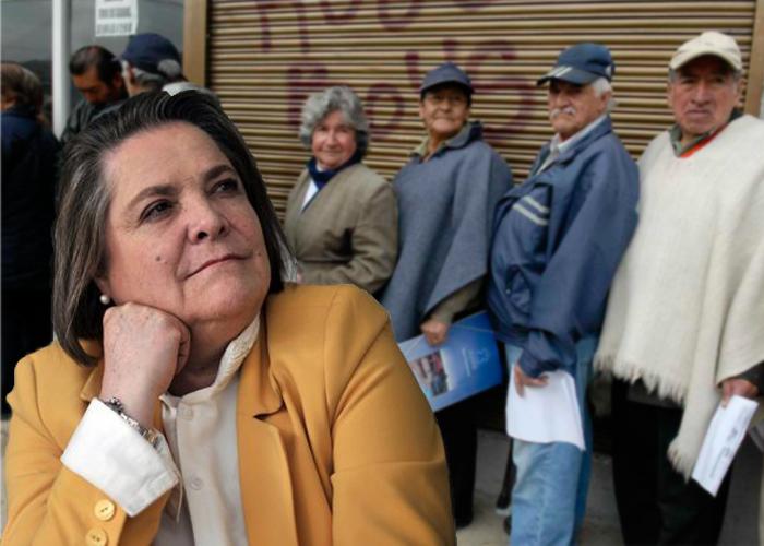 El sistema pensional está en el aire... ¡Y Clara Lopéz no se mueve!