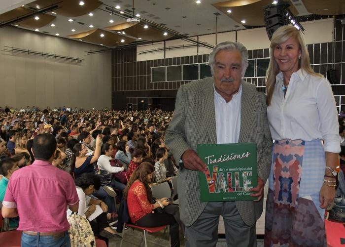 Pepe Mujica reunió a cacaos, mamertos y corruptos