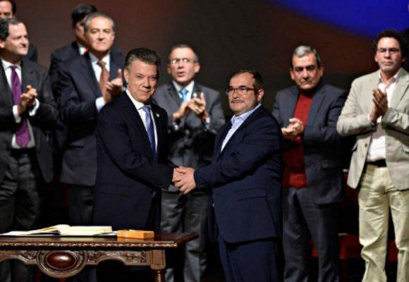 La cumbre de Santos con las Farc en Bogotá