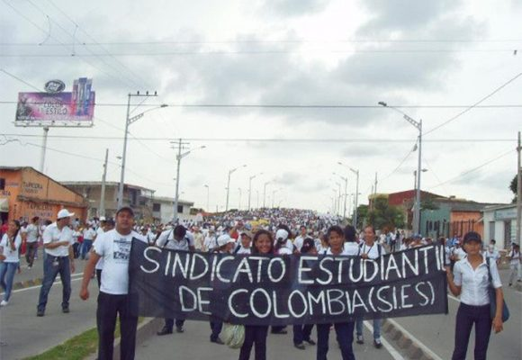 Sindicato Estudiantil Colombiano: vanguardia en Colombia