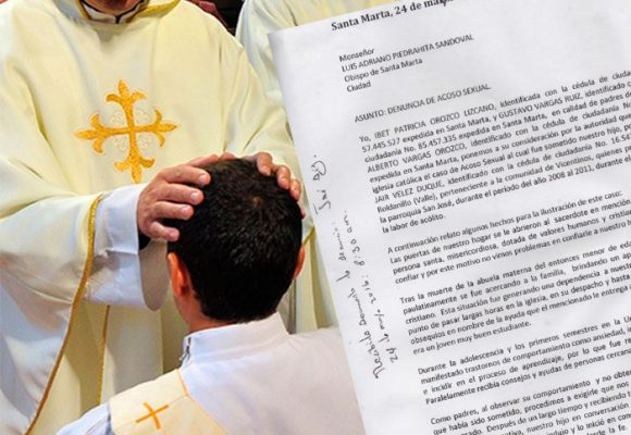 Acoso sexual de un sacerdote en Santa Marta a uno de sus monaguillos