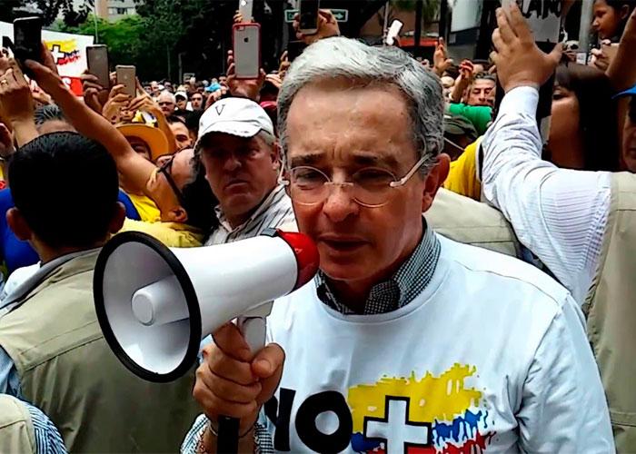 El permiso de Uribe para participar en la marcha del 1 de abril: