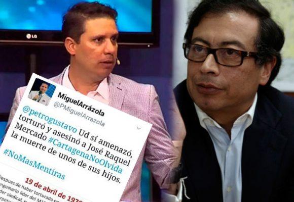 """Usted torturó y asesinó…"", el pastor Arrázola se va contra Petro"