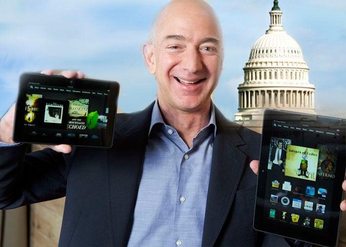 La llegada de Bezos al puesto tres entre los más ricos y a Washington