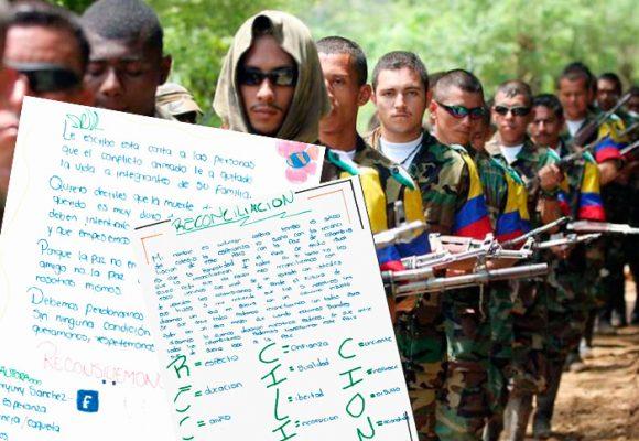 Las premonitorias cartas de paz de los niños del Caquetá