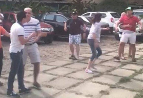 Álvaro Cotes -papá del exgobernador del Magdalena- le sacó pistola al exalcalde Caicedo