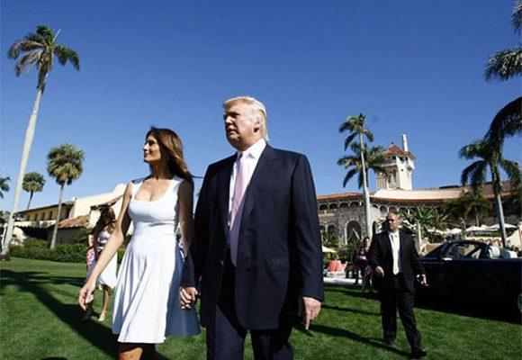 La casa y el campo de Golf en la Florida donde Trump pasa los fines de semana