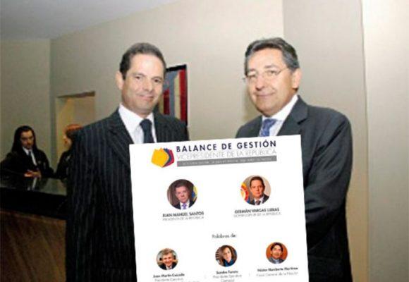 El Fiscal General en el adios y lanzamiento presidencial de Germán Vargas Lleras