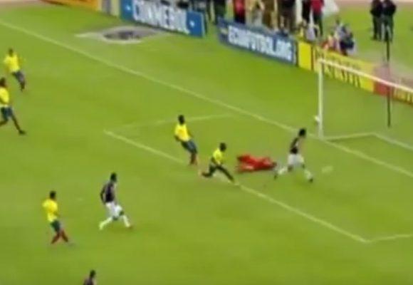 El gol a lo Barcelona que le hizo Colombia a Ecuador