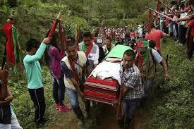 """El asesinato de líderes sociales: """"sembrando ausencias"""""""