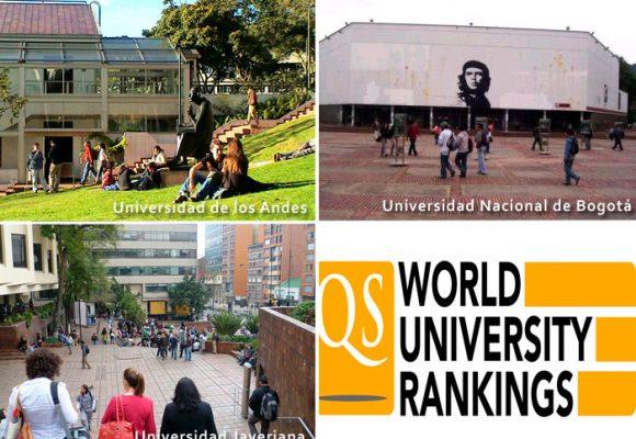 Los tres decanos de la Nacional, Javeriana y Andes que pusieron sus programas en el ranking de los 100 mejores