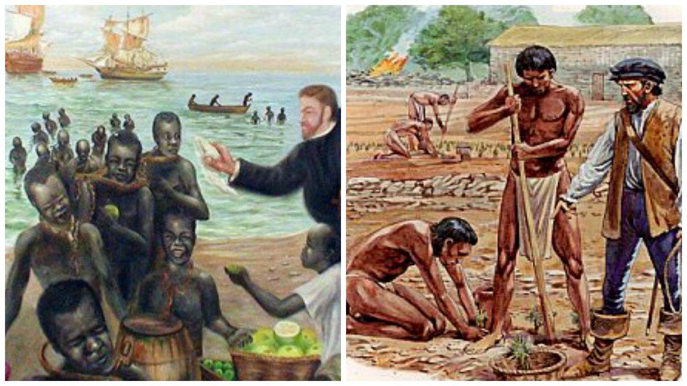 ducha indio esclavitud