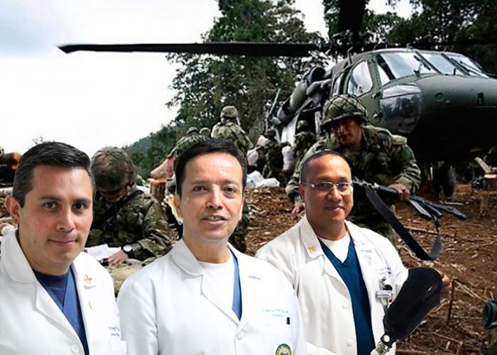 Los médicos rebeldes del Hospital Militar