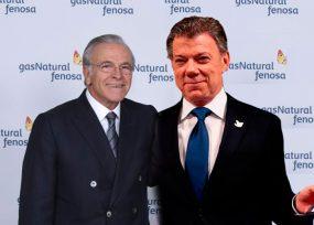 La reunión del español de Gas Natural con Santos que no logró parar la liquidación de Electricaribe