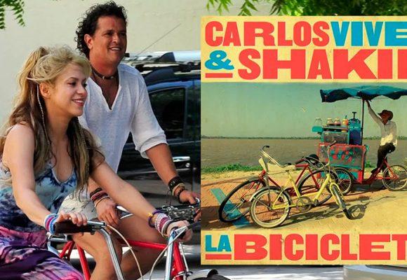 ¿La Bicicleta y otros 5 plagios de Shakira?