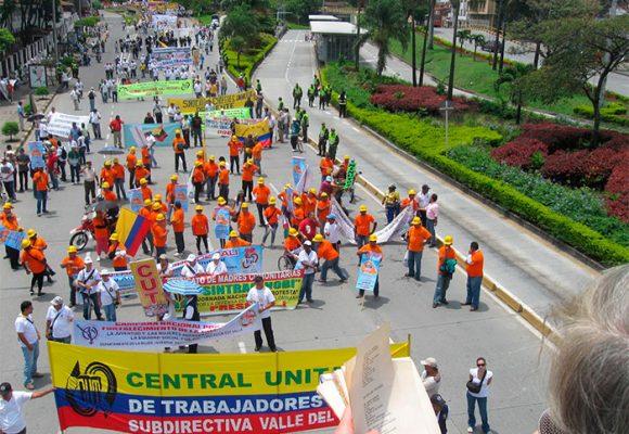 La nueva central sindical de la Américas que nace en Bogotá