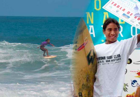 El surfista Kogui que se quedó sin medírsele a los grandes