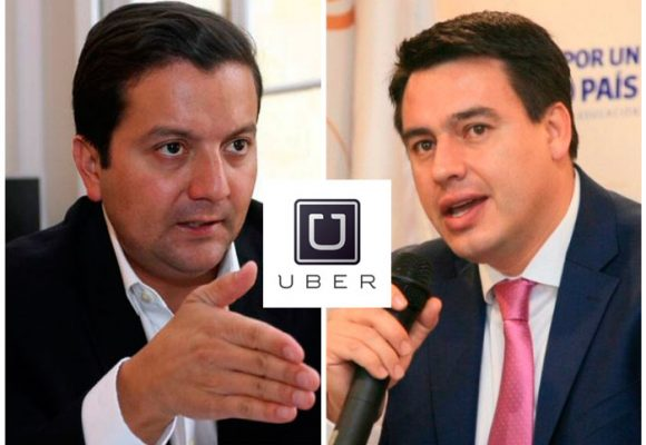 Uber alborotó la pelea al interior del gobierno Santos