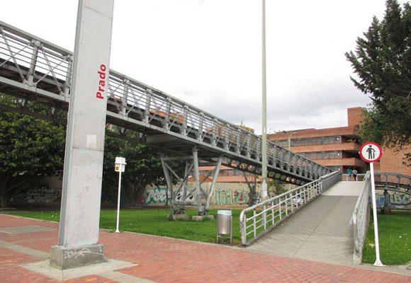 Constantes atracos en la estación de Prado en Bogotá