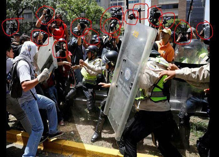 ¿Cuánto vale una foto para la oposición venezolana?