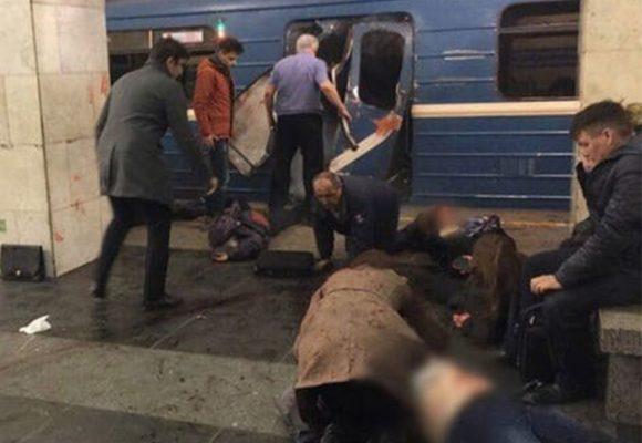 Atentado en el metro de San Petersburgo deja 10 muertos