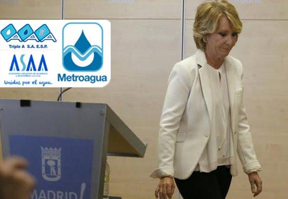 La corrupción de Metroagua y la Triple A en la Costa Atlántica, tumba a la súper poderosa de Madrid