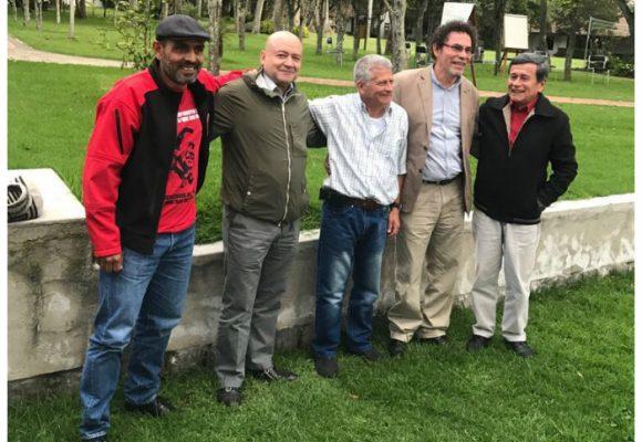 Encuentro  del ELN y FARC para apoyar el proceso de paz en Quito