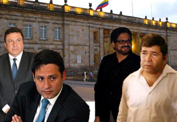 Lizcano y Pinto le prohiben la entrada al Congreso a Iván Márquez y Juan Carlos Cuéllar