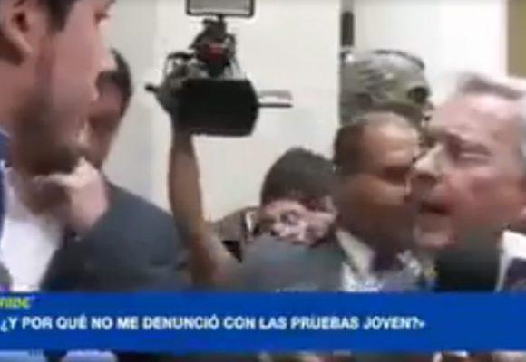 Álvaro Uribe a las víctimas en el Congreso: