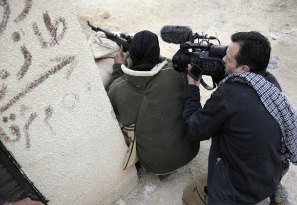¡No disparen al periodista!