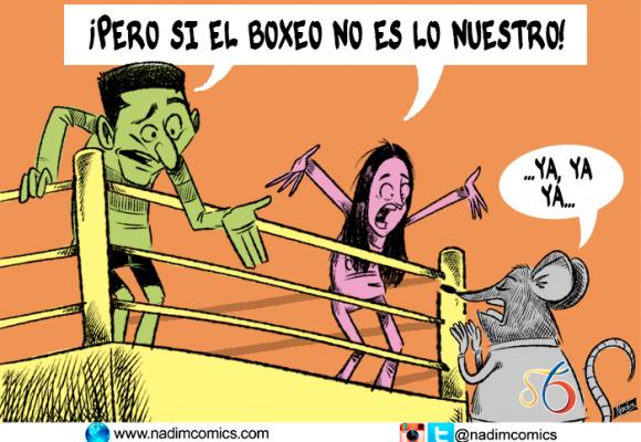 """""""Pero si el boxeo no es lo nuestro"""""""
