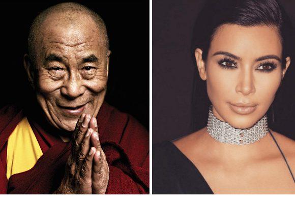 Kim Kardashian y el Dalai Lama explican por qué ganó Trump