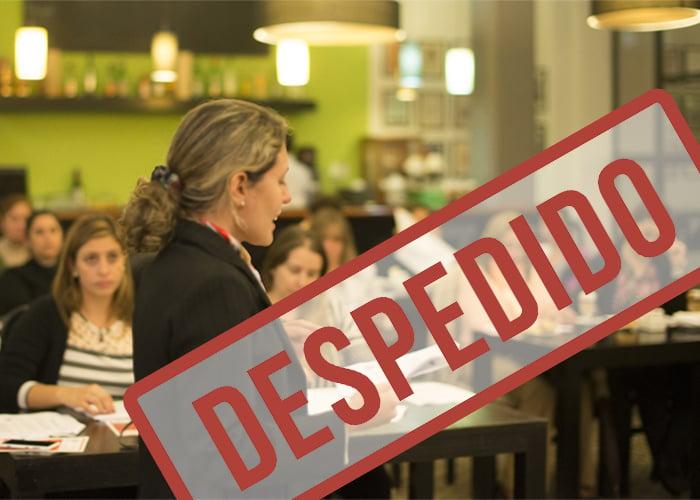 ¿Profesora universitaria despedida por exigirles más a sus alumnos?