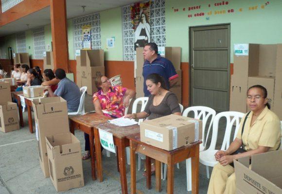 Elecciones atípicas en Túmaco