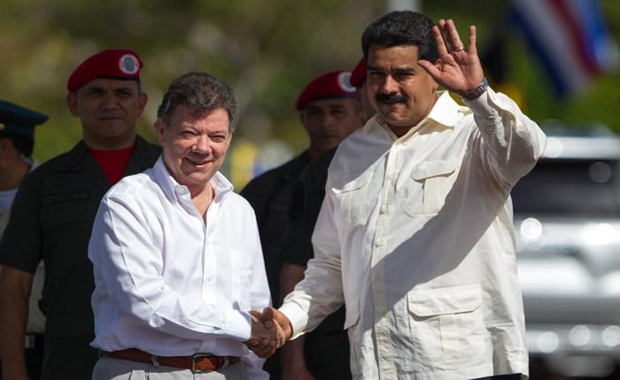 ¿En qué momento Maduro y Santos dejaron de ser los mejores amiguis?