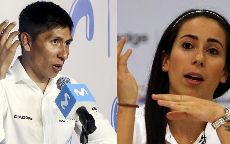 Mientras Mariana Pajón manda un mensajito inofensivo… ¡Nairo negocia de frente con Santos!