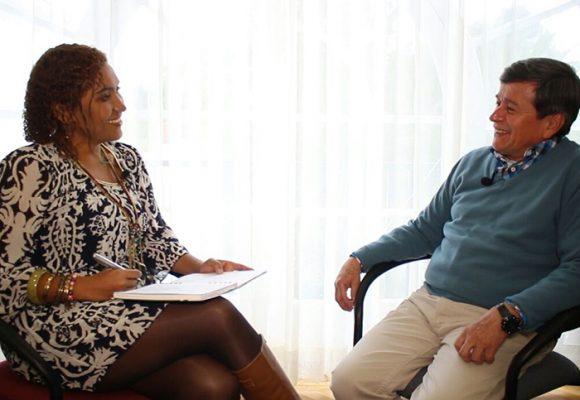 Entrevista a Pablo Beltrán, desde la sede de los diálogos en Ecuador