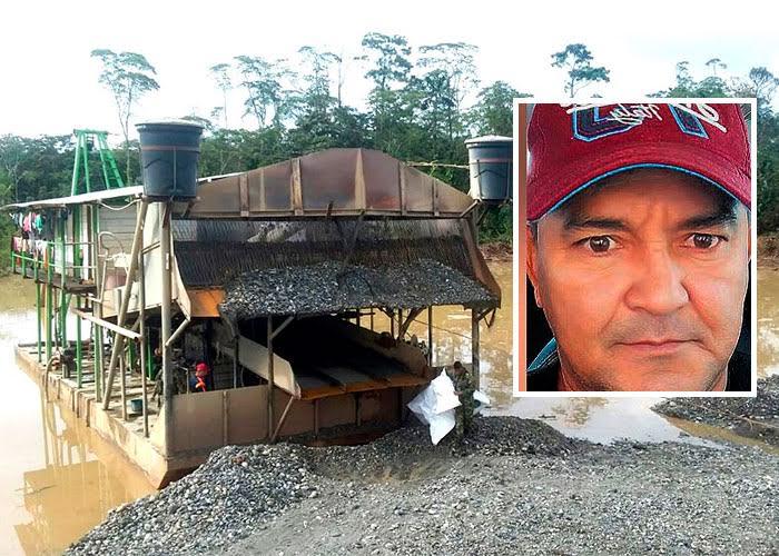 El brasilero Cavalcante y su emporio de minería ilegal en el Chocó y el bajo Cauca Antioqueño