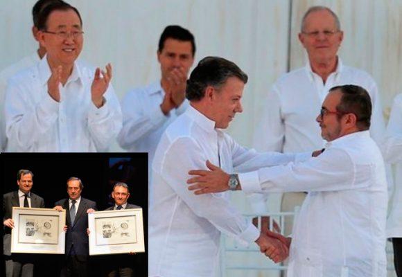 Premio Gernika por la paz y la reconciliación entregado por el acuerdo de paz. Palabras de Timochenko